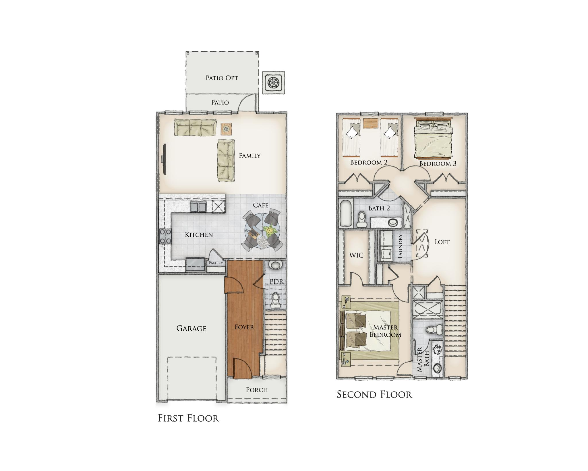 Church Creek II Floor Plan