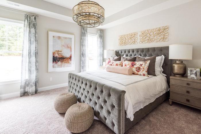 Charlotte master bedroom.