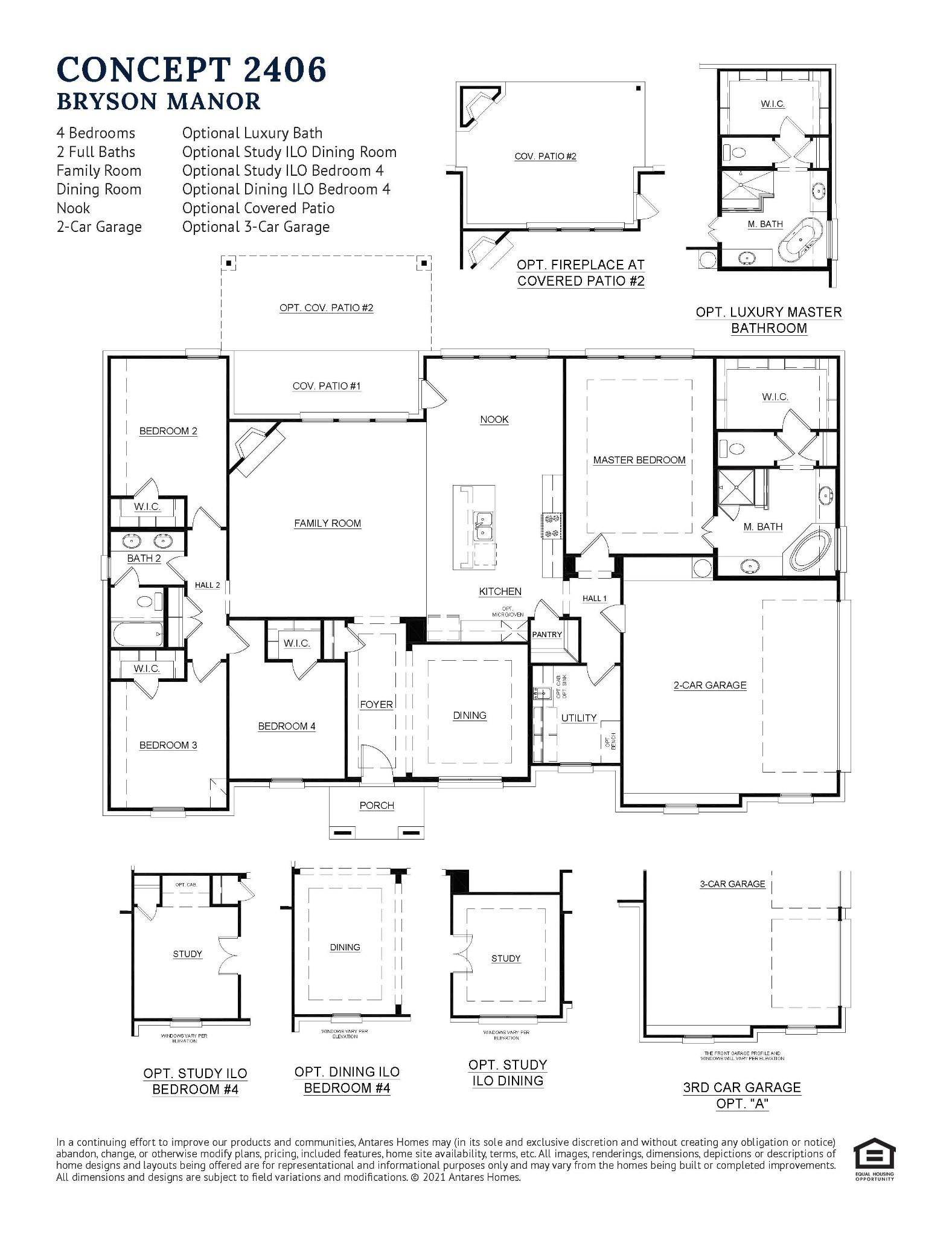 Floorplan Bryson Manor 2406