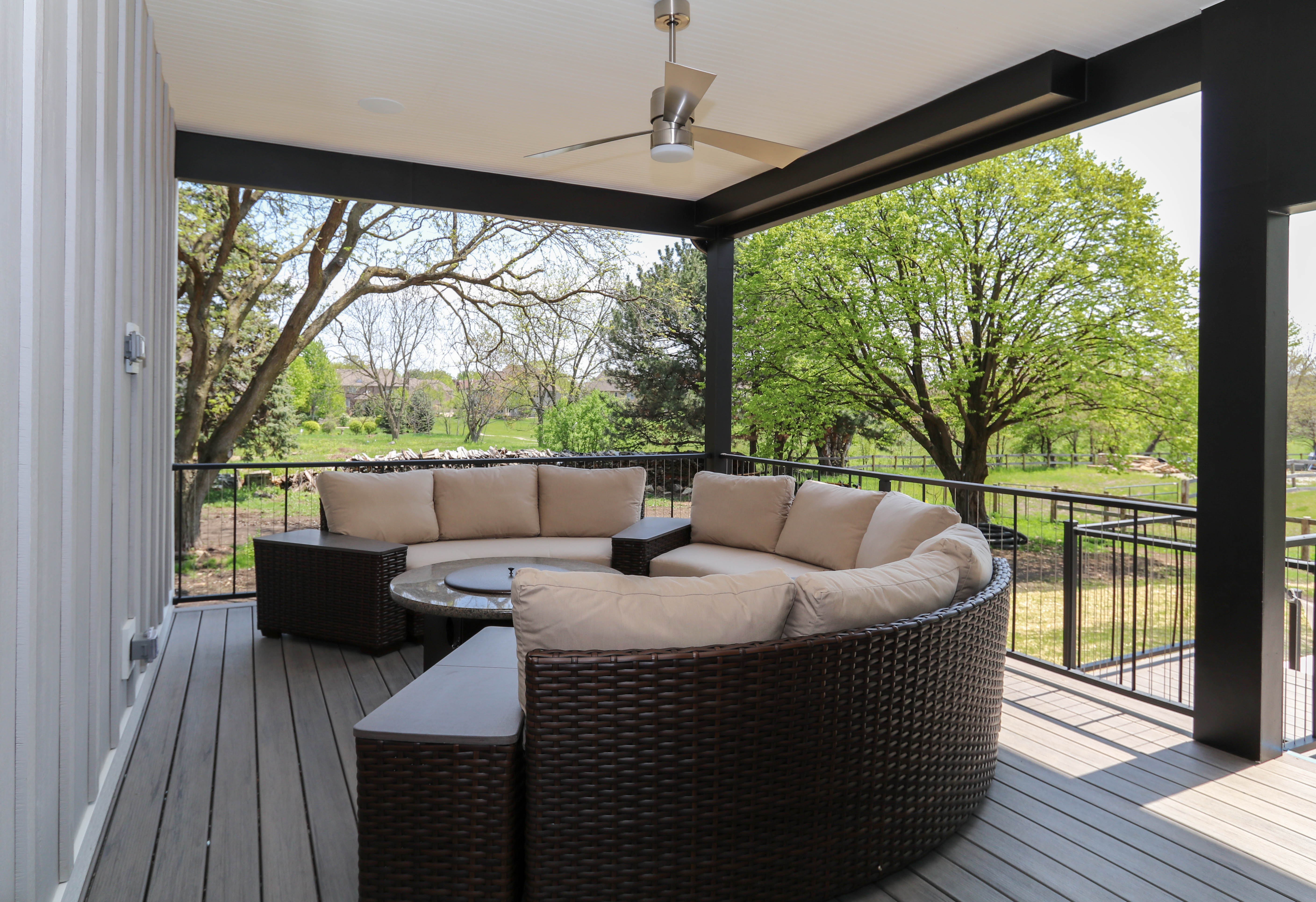 Having A Covered Area Protects Your Outdoor Furniture From Getting Washed  Out By The Sun.