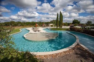 Vintage Oaks new home community pool