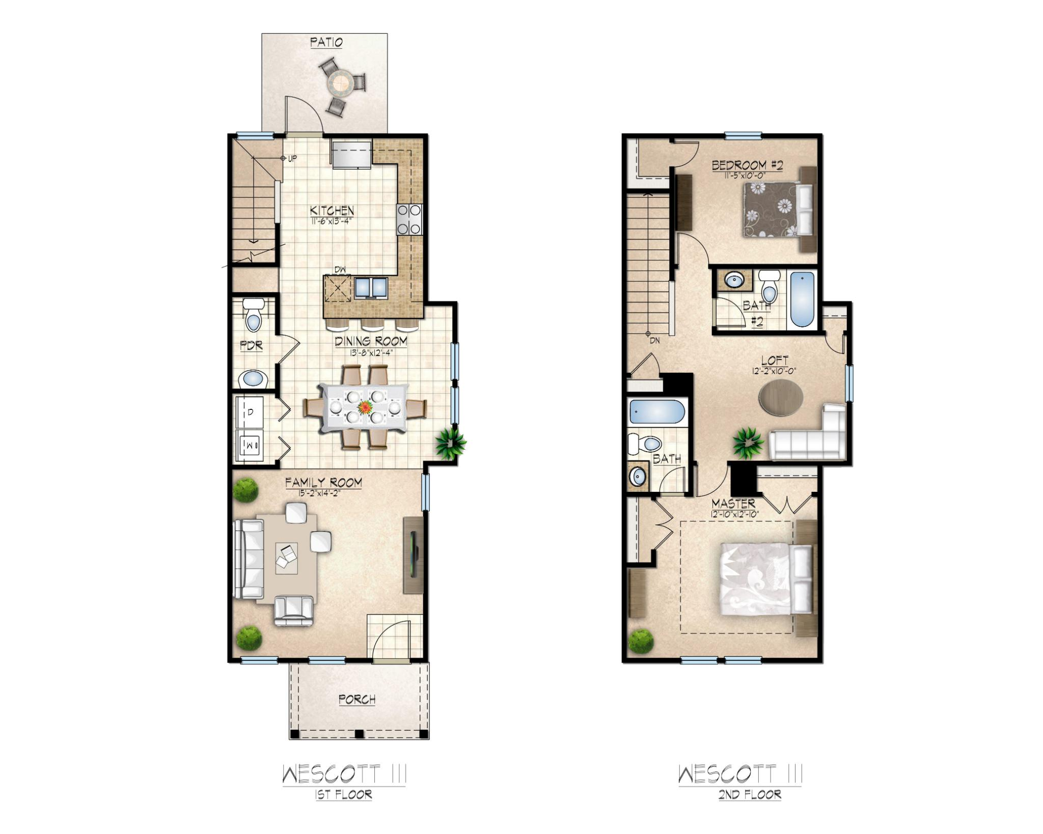 Wescott III Floor Plan
