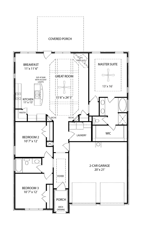Excellent Brookland I Floor Plan Nashville New Home Regent Homes Download Free Architecture Designs Jebrpmadebymaigaardcom