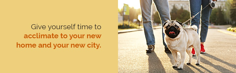 get acclimated to your new city