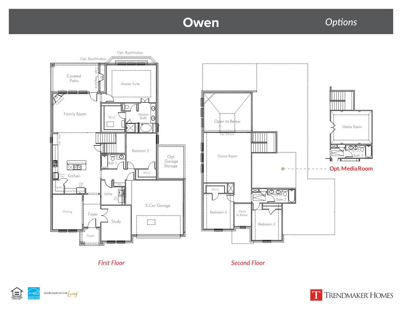 Owen floor plan - Vineyards