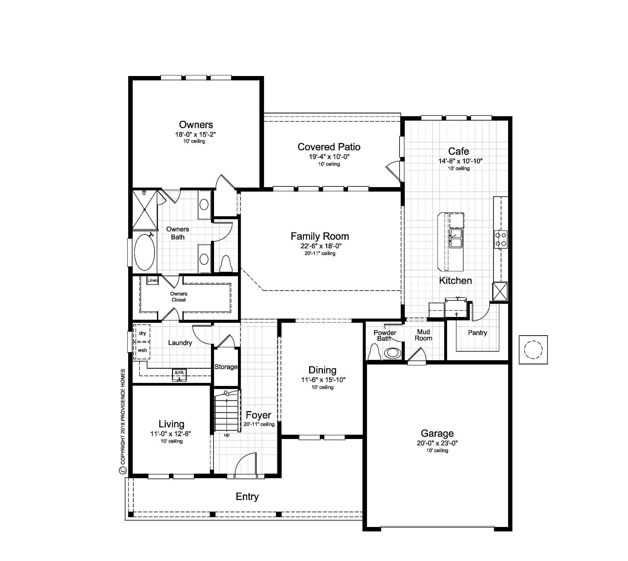The Hancock Floorplan Floor 1