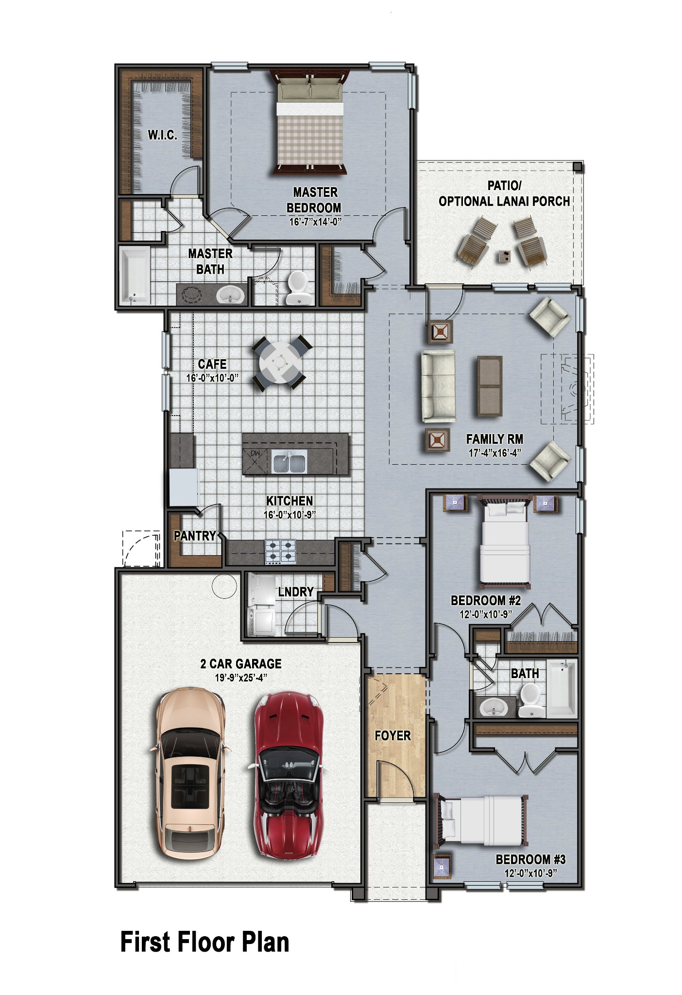 Allendale II Floor Plan
