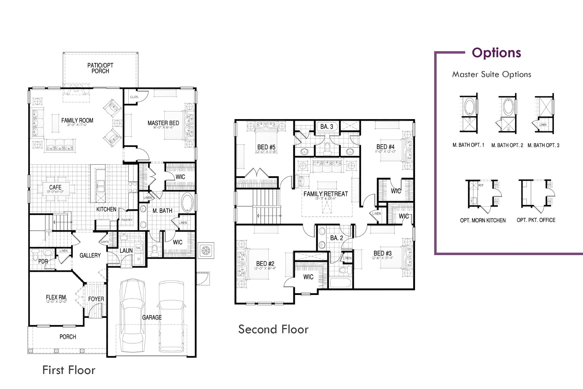 St. Ledger Floor Plan