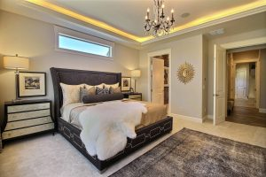 Bedroom of The Turtledove's Award Winning Master Wing Continued