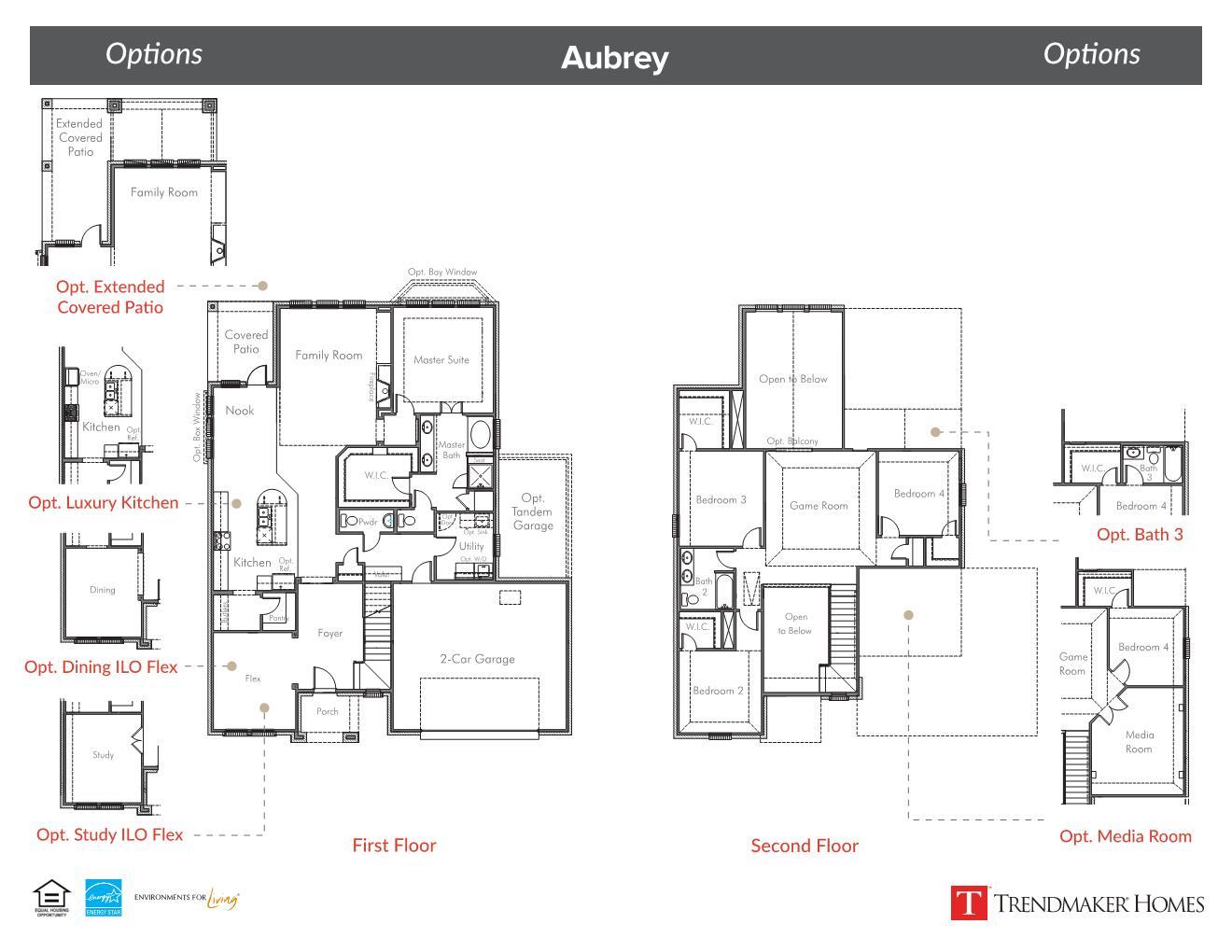 Aubrey Floor Plan - Glen View