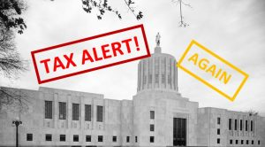 Lawmakers float property tax bill by removing mortgage interest deduction for non-owner occupied homes. By Taxpayer Association of Oregon