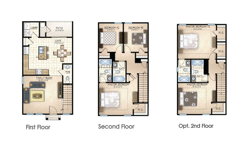 Magnolia Closed Floor Plan