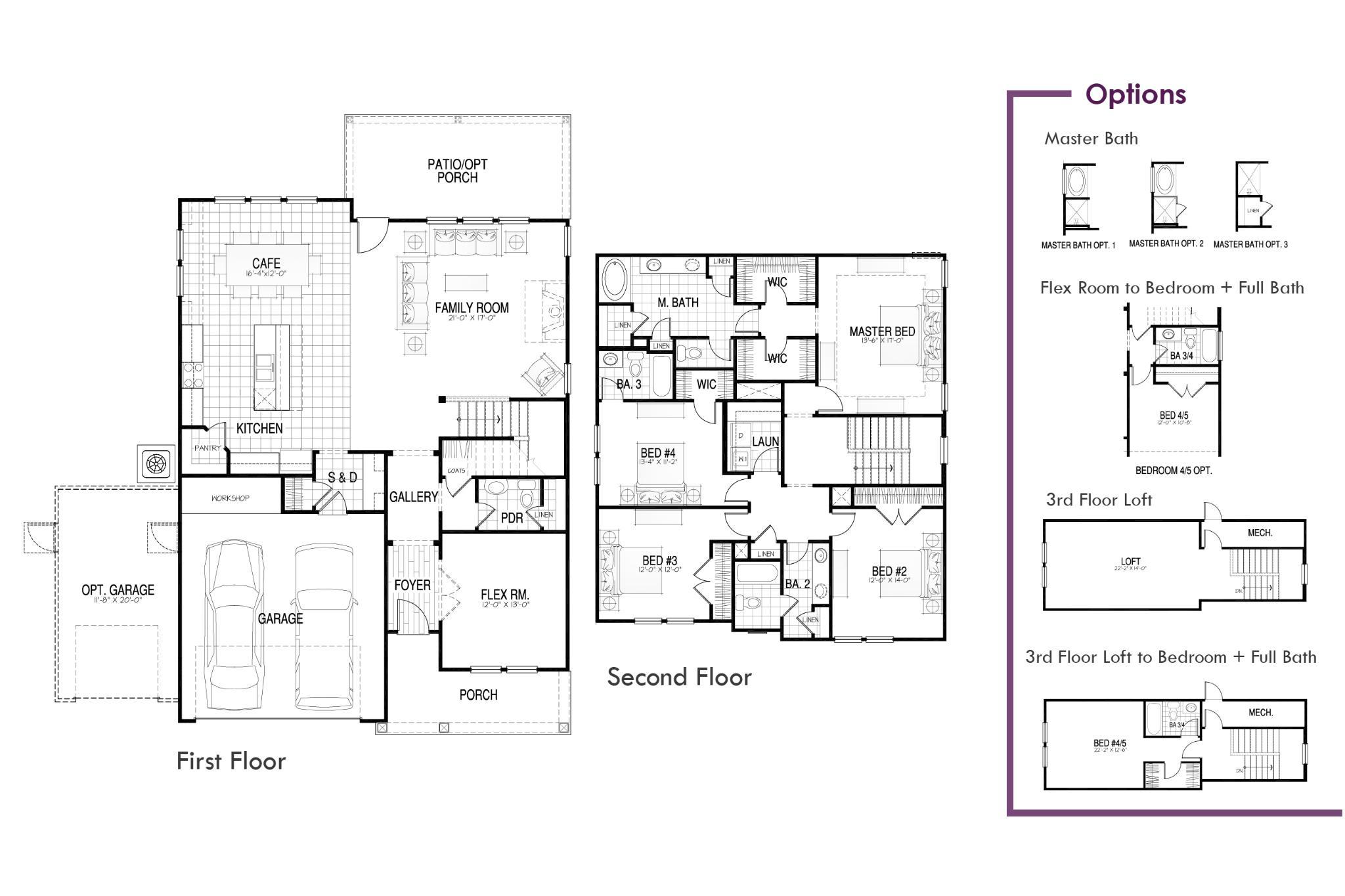 Maywood II Floor Plan