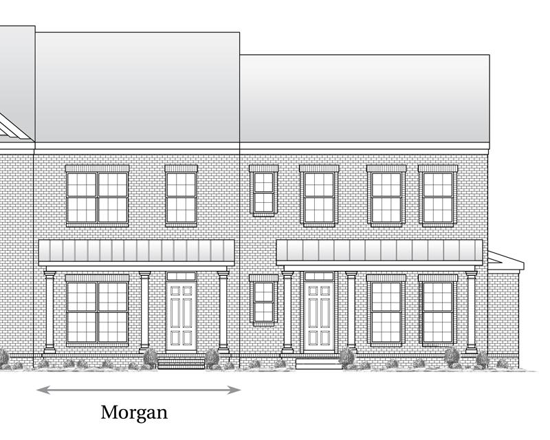 Morgan Floor Plan Nashville New Home Regent Homes