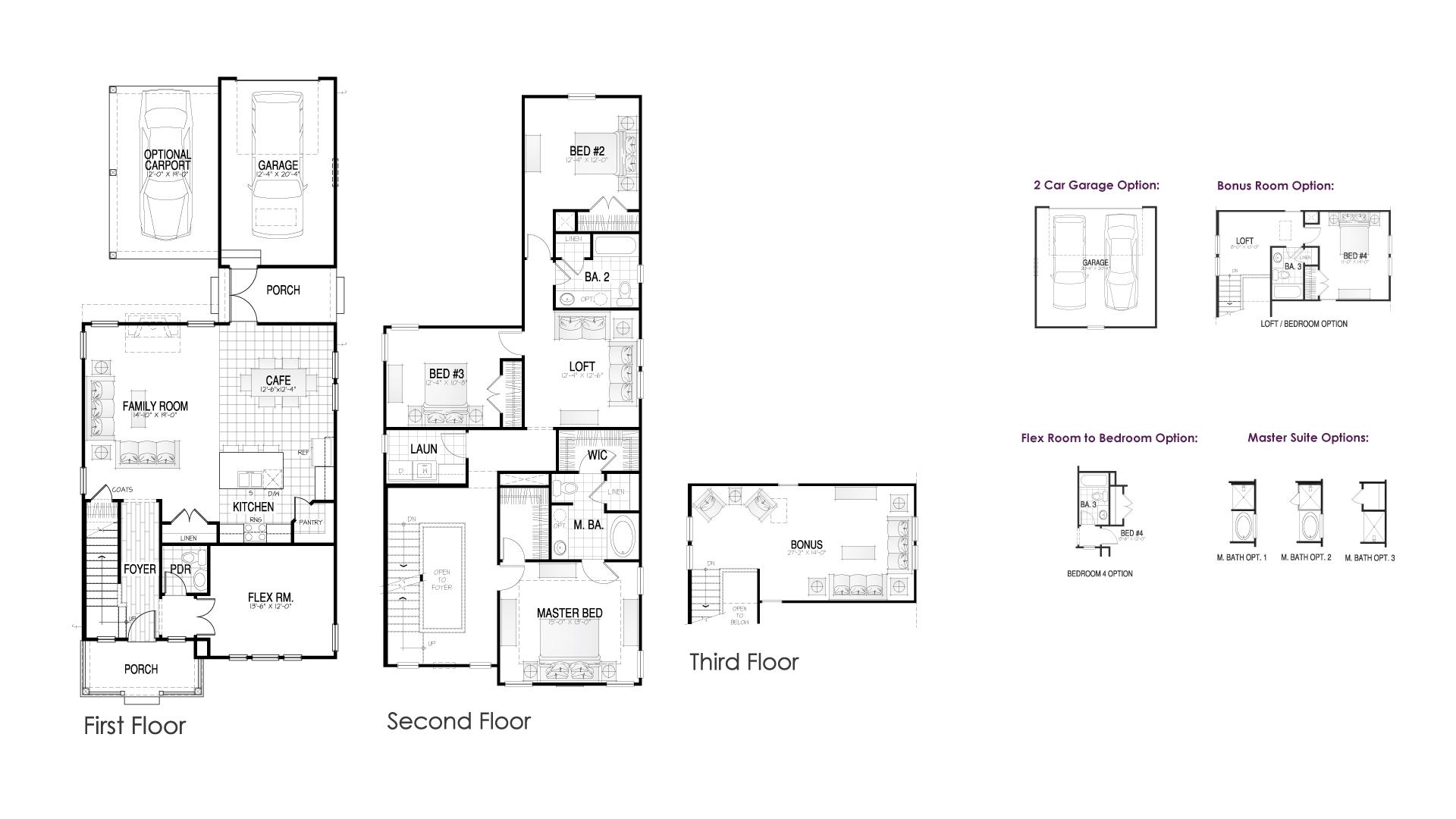 Wando II Floor Plan