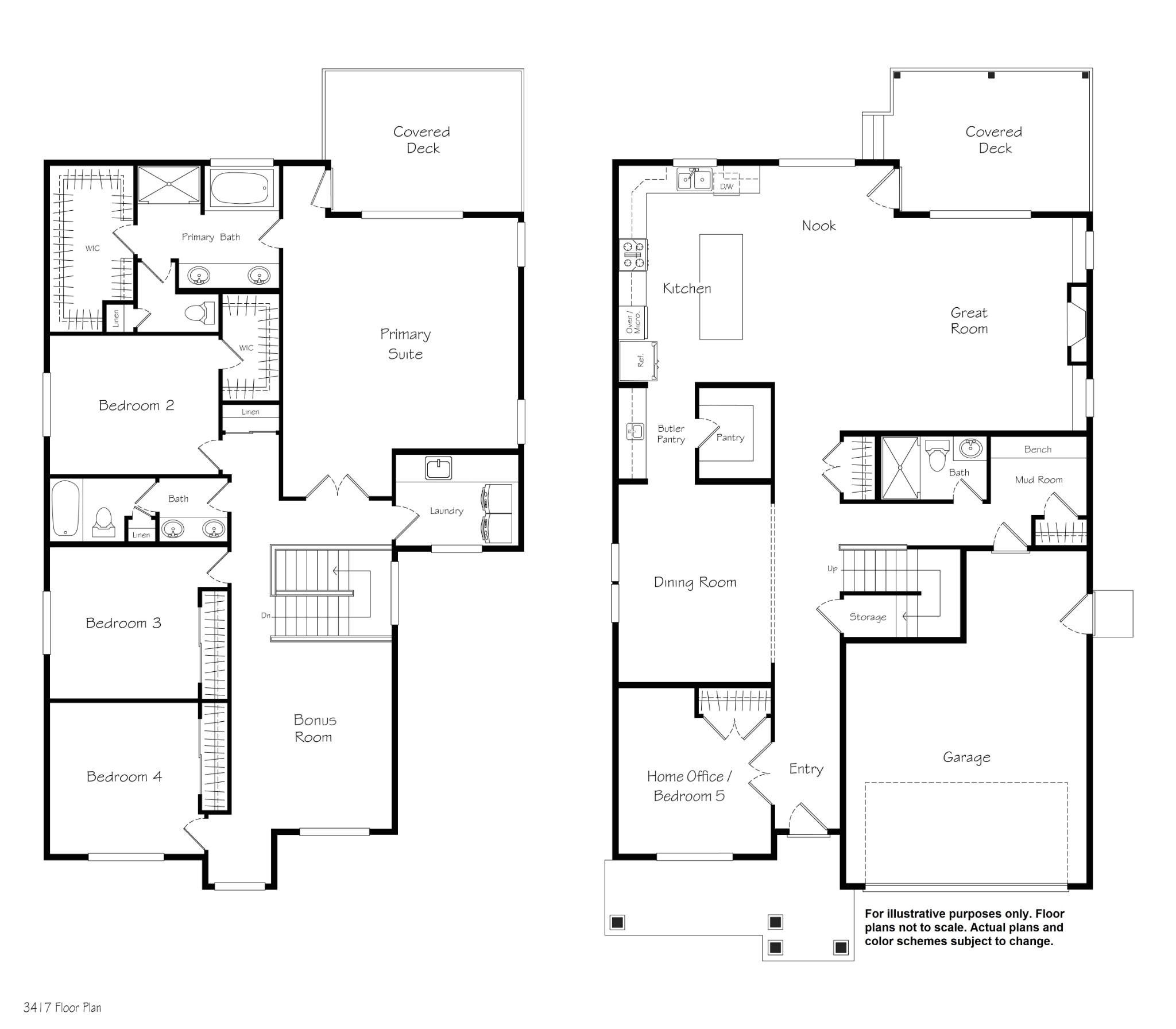Skyline floor plan