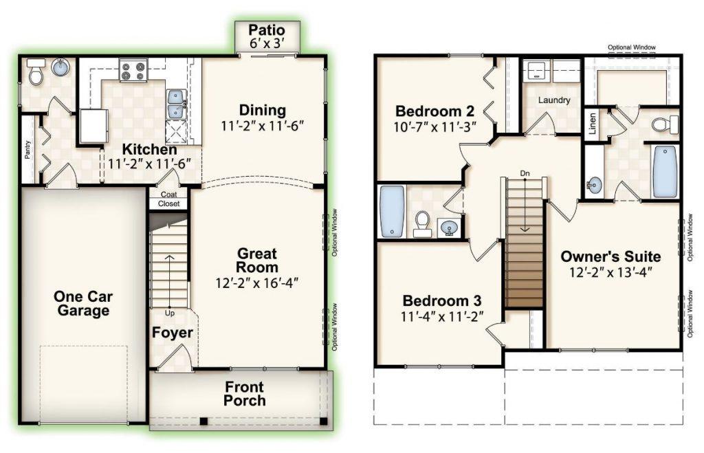 Mcguinn Hybrid Homes Anderson Floor Plan Is Perfect For The Modern Family Mcguinn Hybrid Homes