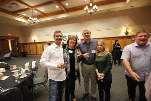 Ron + Krissie Wagner of Cascade West & Vicki and Bill Pahl - Homeowners of The Turtledove