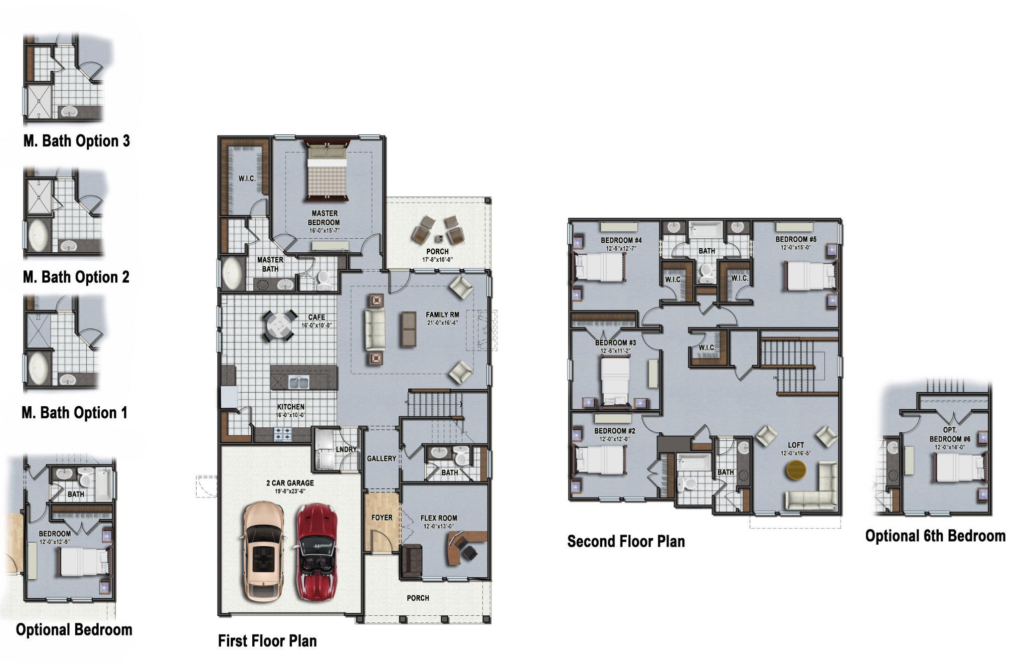 Beaufort Floor Plan