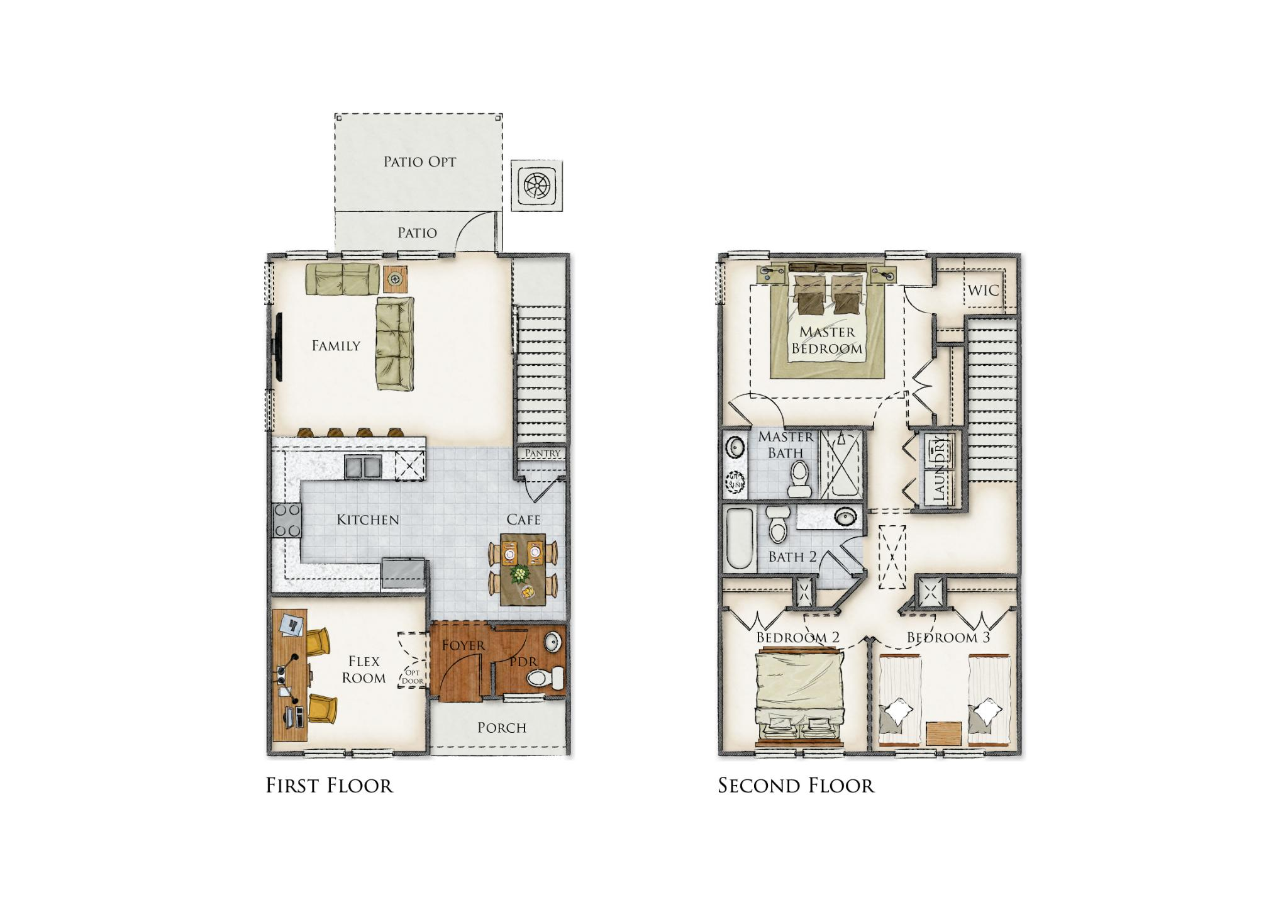 Sawpit Creek Floor Plan