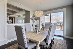 Dining Nook w/ Balcony Access