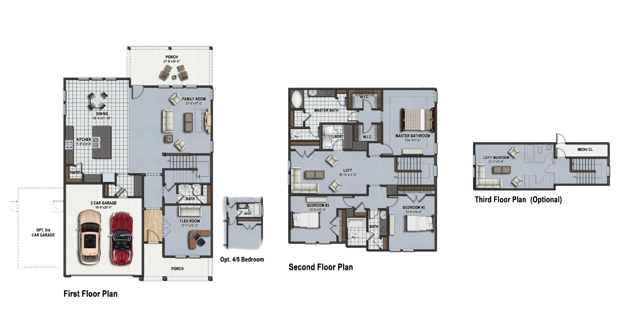 McCormick Floor Plan