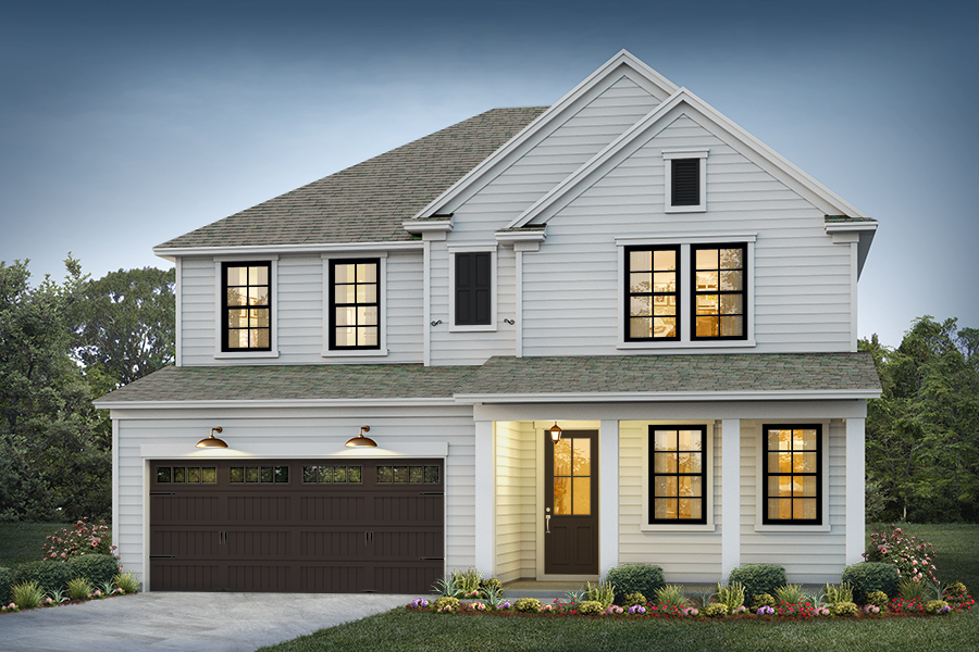 Belmont Elevation 3 Homestead Color Package