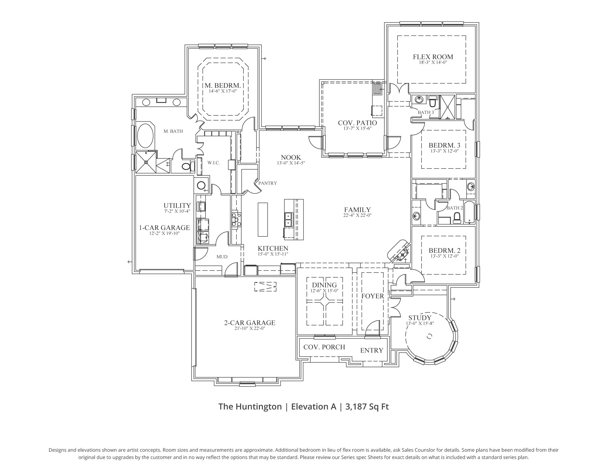 Coventry Floor Plan In Dfw Our Country Homes
