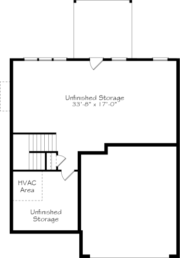 Charm A - Optional Unfinished Basement