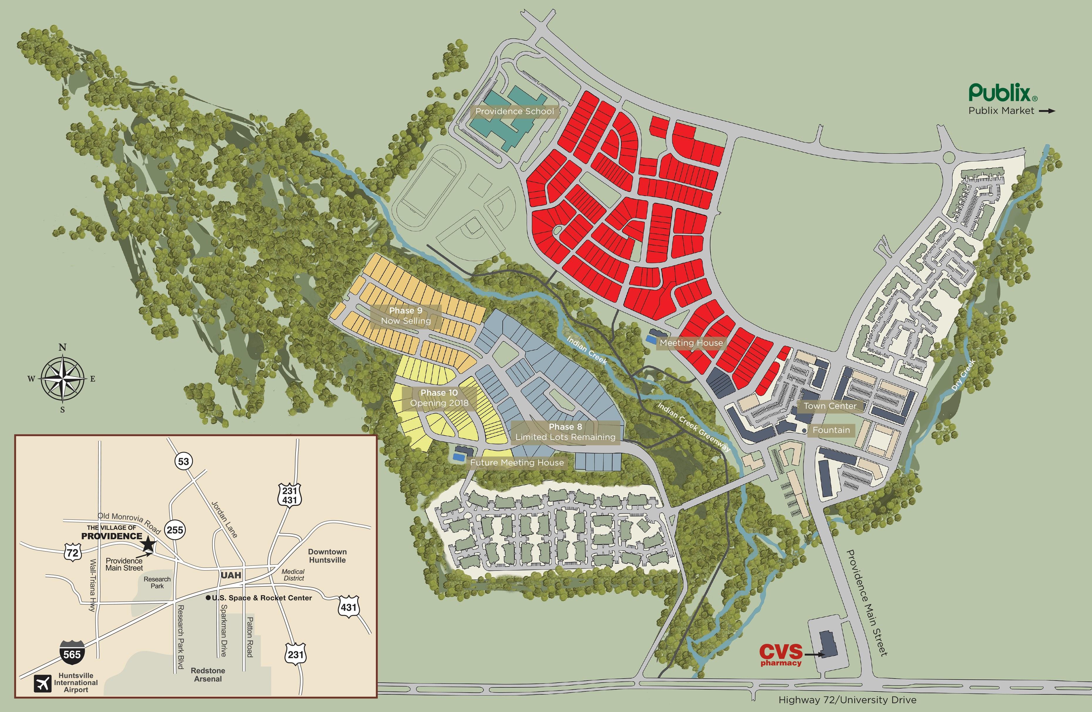 Site Plan   Village of Providence
