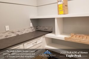 Parade of Homes 2018 : Eagle Peak : Kitchen & Pantry Under Construction