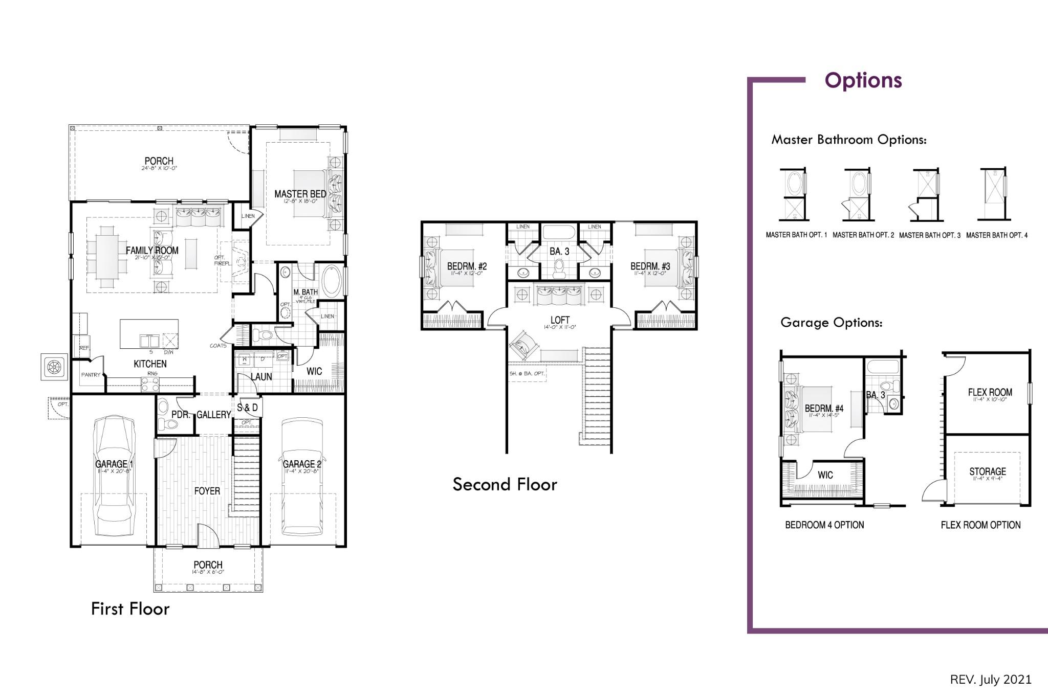 Freehold Floor Plan