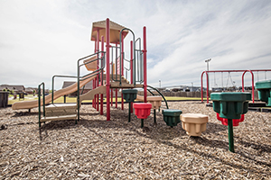 Homes for sale in Yukon OK with a community playground