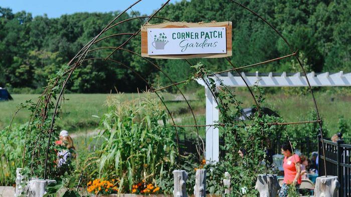 Corner Patch Garden.