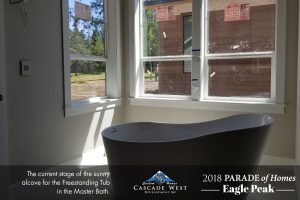 Parade of Homes 2018 : Eagle Peak : Master Wing (Bedroom + Bathroom + Closet + Mud Room) Currently Under Construction
