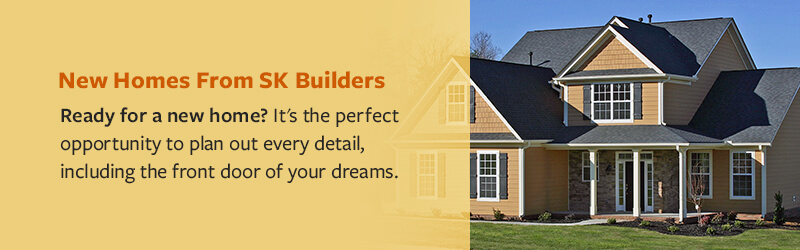 New Homes From SK Builders