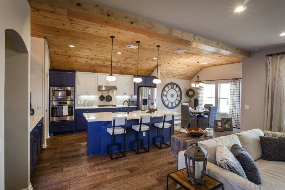Langley Living Kitchen