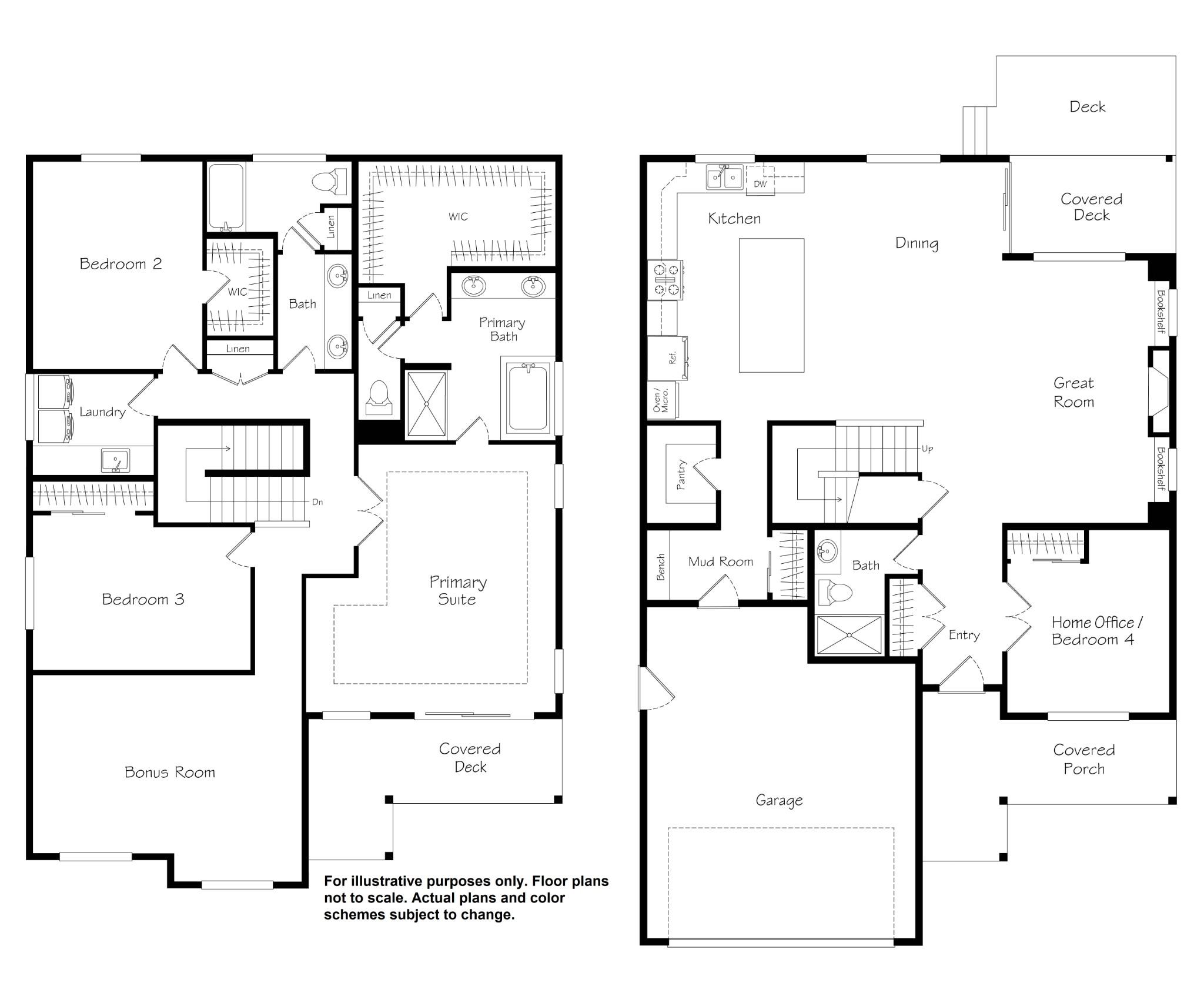 Summit View floor plan
