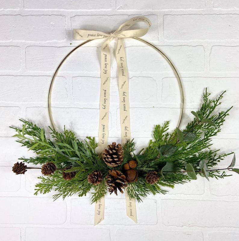 Rustic Farmhouse Christmas Wreath Christmas 2020 Decorating Trends for Your New Home