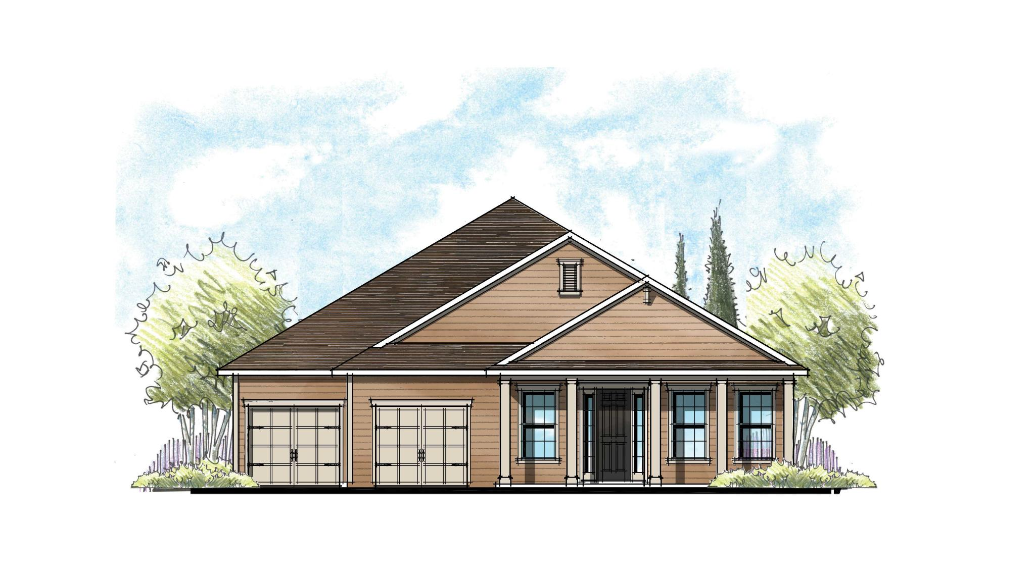 The Magnolia Low Country 3 w/2 Car Garage