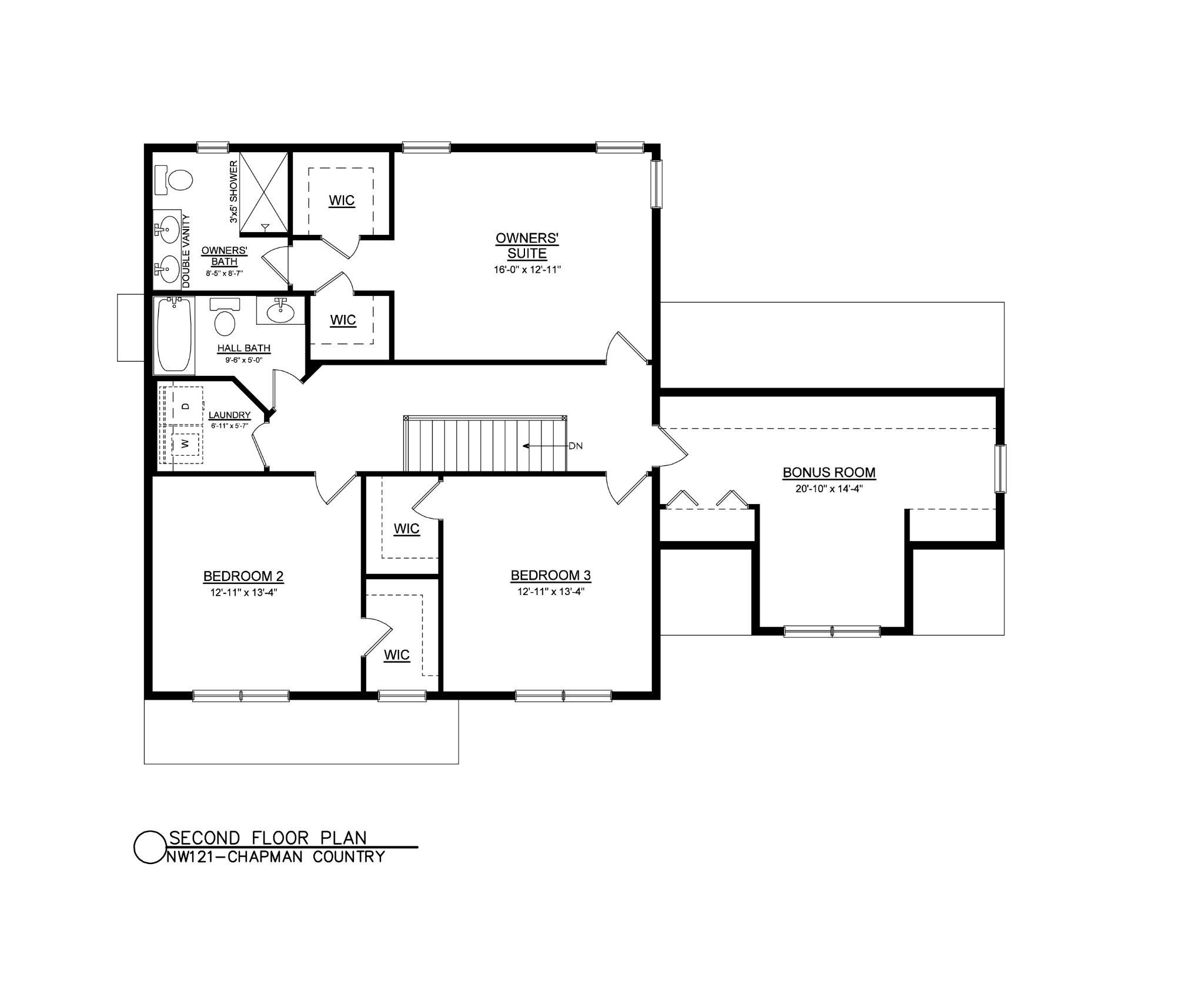 Chapman Country Floor Plan