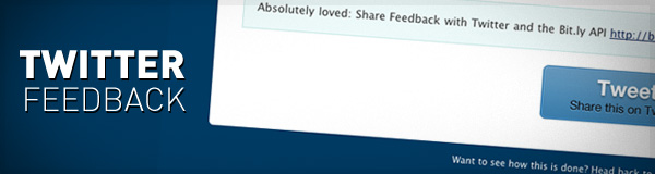 Share Feedback with Twitter and the Bit ly API « Build Internet