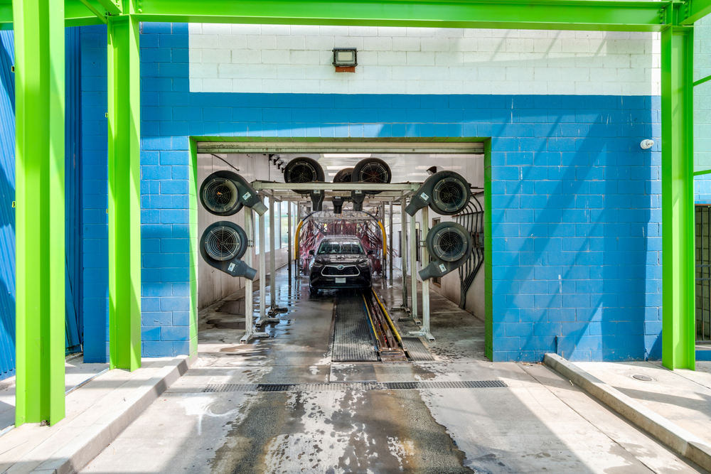 Express Car Wash with Real Estate