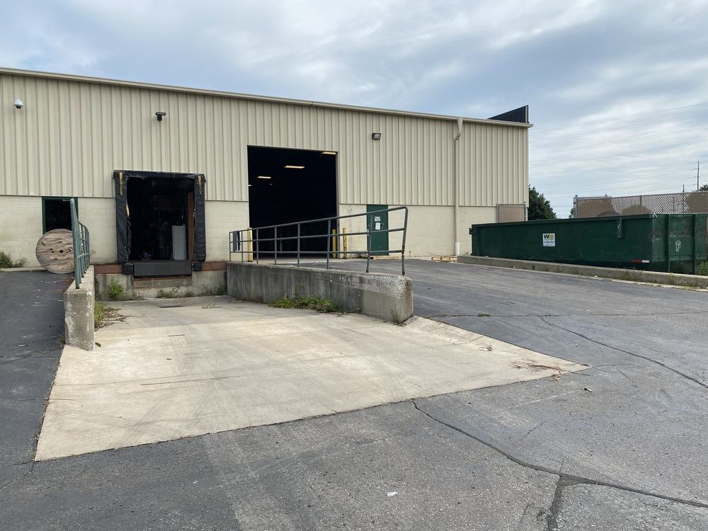 Industrial with Fenced Storage for Lease in Ann Arbor