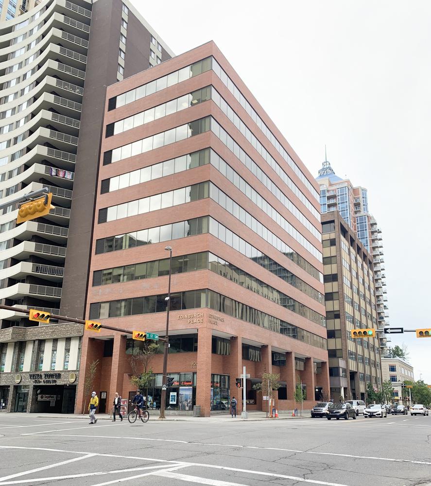 <div>Edinburgh Place</div><div>Calgary, AB T2P 3K2</div>