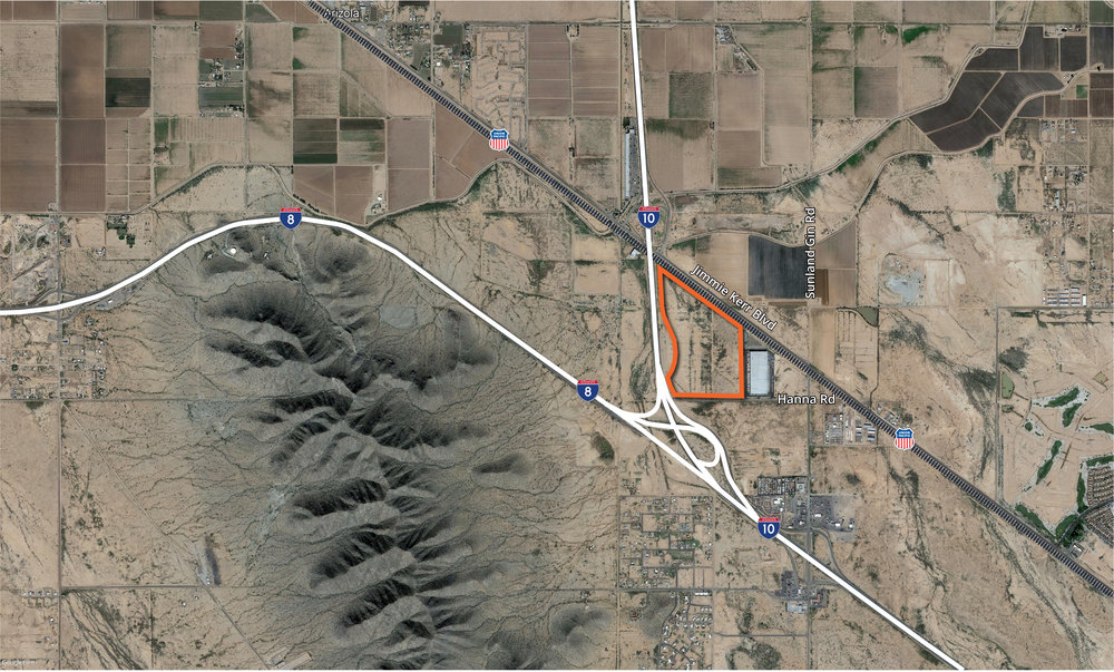 Casa Grande Land<br/><div>NEC I-8 & I-10 Freeways</div><div>Casa Grande, AZ 85193</div>