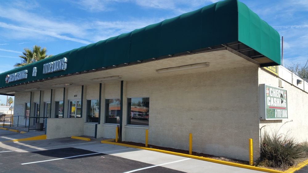 Former Check Cashing & Title Loans Building for Lease