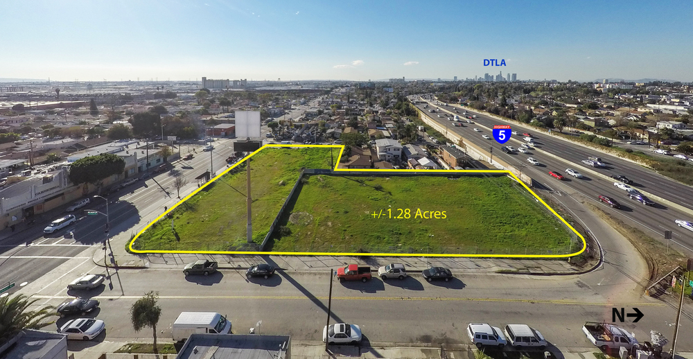 +/-1.28 Acre Lot for Sale | East Los Angeles