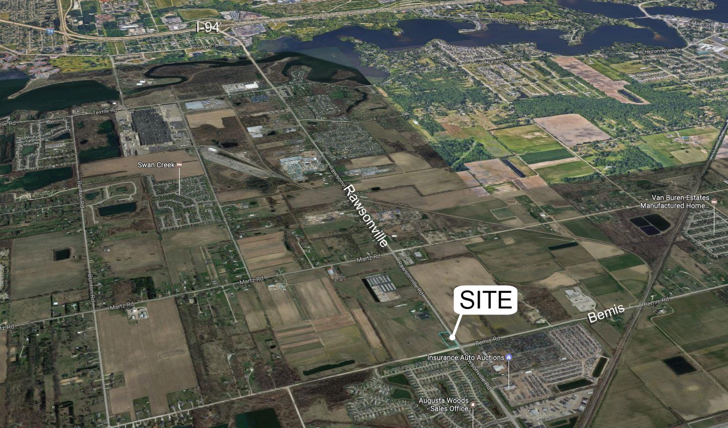 1 Acre Rawsonville Corner Redevelopment