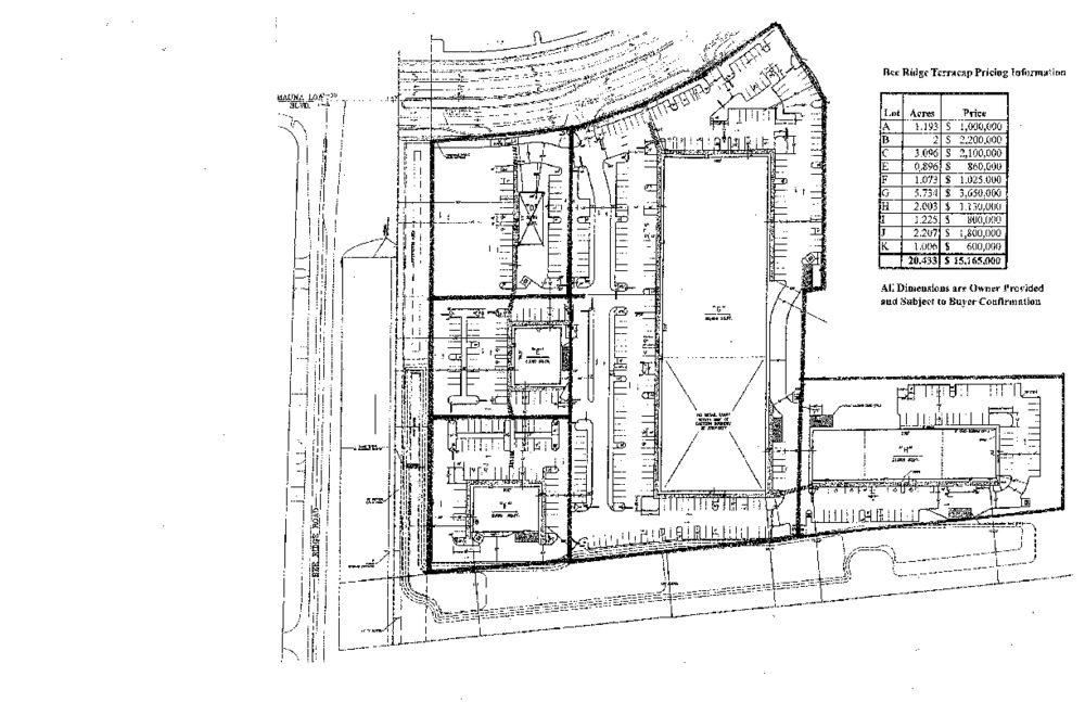 6651 Bee Ridge Rd Site Plan-East Front Piece